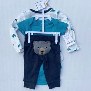 NWT Carter's 3 Pack Mr. Adorable Outfit, newborn